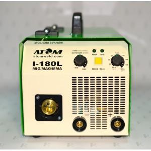 Сварочный инверторный полуавтомат Атом I-180L MIG/MAG (с горелкой и каб. массы)
